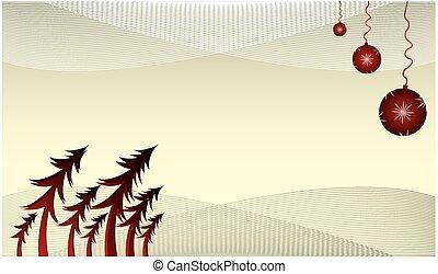 Christmas card, invitation, backgro