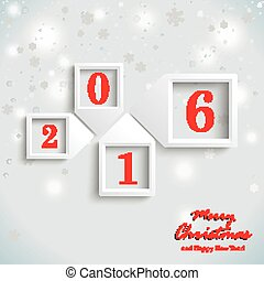 Christmas Card New Year 2016