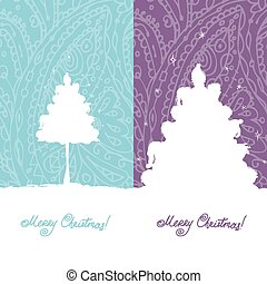 Christmas card, sketch for your design