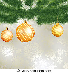 Christmas card template design. EPS 8
