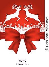 Christmas card vector - Christmas card greeting festive menu...