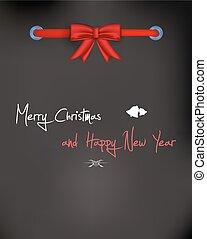 christmas card. Vector Illustration