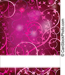 Christmas card with holiday elements. - Christmas card with ...