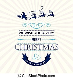 Christmas card with white pattern vector