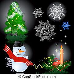 Christmas celebration set