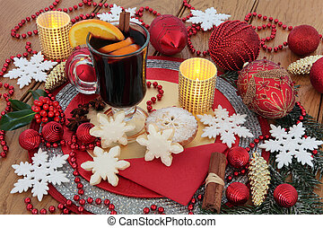 Christmas Celebration Still Life