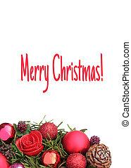 Christmas Centerpiece Christmas Card