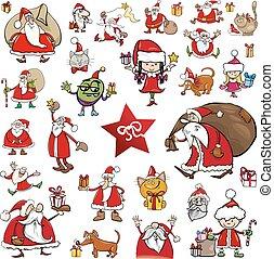 christmas characters cartoons