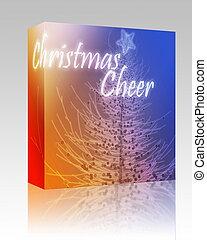 Christmas cheer box package
