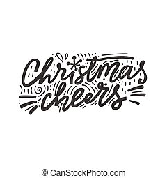 Christmas Cheers Lettering