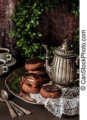Christmas Chocolate Cookies - Christmas Chocolate and Mint...