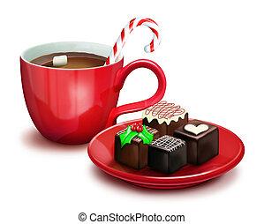 Christmas Chocolates and Cocoa