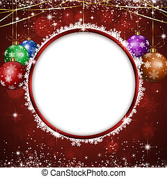 Christmas Circle Notice - winter holiday circle notice for...