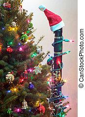 Christmas Clarinet Santa Hat