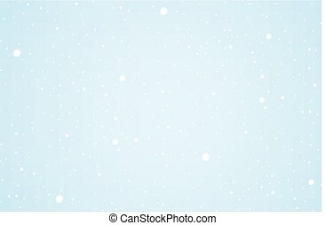 Christmas clean background, banner, with snow