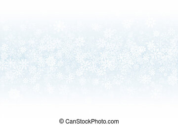 Christmas Clear Blank Subtle Background In Ultra High Definition Quality. Frost Effect On Glass With Realistic Snowflakes Overlay On Light Silver Backdrop. Xmas Snow Clean Decoration