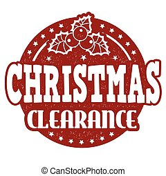 Christmas clearance stamp