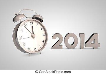 Christmas clock 2014
