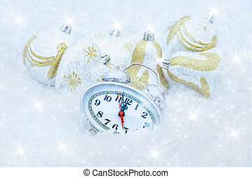 Christmas clock five minutes left