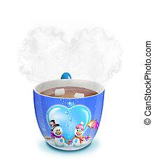 Christmas Cocoa (hot chocolate)