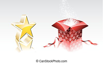 Christmas collection with 3d elements.