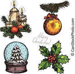 Christmas Color Set
