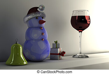 Christmas concepts  with gifts