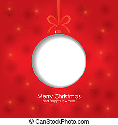 Christmas congratulation