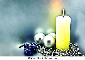 Christmas congratulatory card