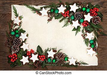 Christmas Cookie Border