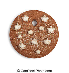 Christmas cookie isolated