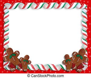 Christmas Cookies Border - Image and illustration...