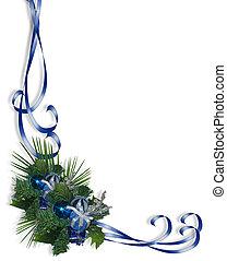 Christmas Corner Blue
