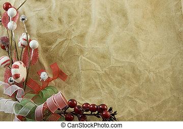 Christmas corner decoration