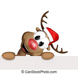 Christmas corner reindeer