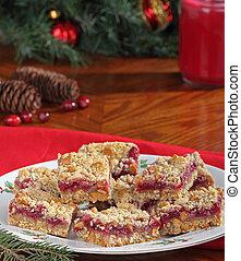 Christmas Cranberry Bars