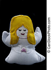 Christmas crib angel