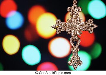 Christmas cross.