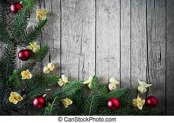 Christmas Cuisine Background