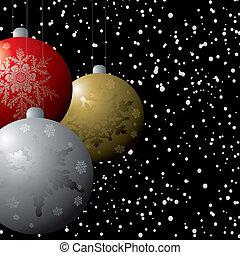 christmas deco flurry