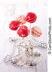 christmas decoration and candy