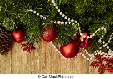 Christmas decoration and New Year 2019