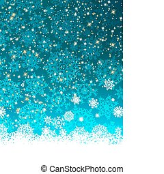 Christmas decoration background with copy space. EPS 8 vector file included