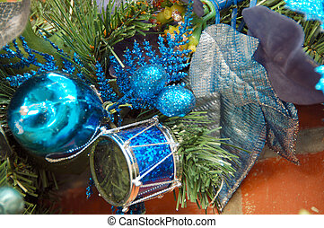 Christmas Decoration Balls and Drums