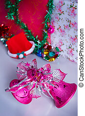 Christmas decoration bell.