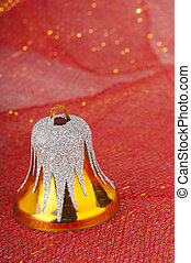 Christmas, decoration, bell