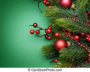 Christmas Decoration border Design