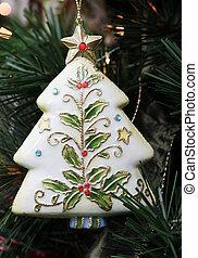 Christmas decoration - Christmas tree decoration on a tree