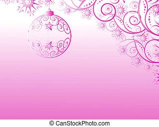 Christmas decoration as symbol of Christmas time