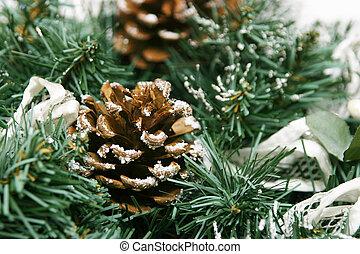 Christmas Decoration - Close up of a christmas decoration